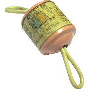1916 Celluloid Baby Doll Rattle