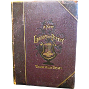 """A New Library of Poetry and Song"", William Cullen Bryant Vol II, 1877"
