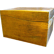 Old Oak File Box