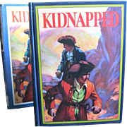 "1932 ""Kidnapped"", by RLS, Illustrated by Manning de V.Lee"