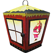 Working 1940s Lighted Christmas Lantern