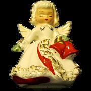 """Ermine Angel"" Christmas Candlestick, Holt Howard, 1958"