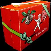 Little Boy in PJs on 1940's Cardboard Candy Box