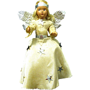 Vintage '30's Composition Tree Topper Angel