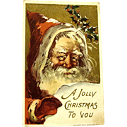 Father Christmas 1908 Postcard, J. Bien