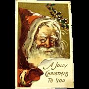 Father Christmas 1908 Postcard, J. Bien