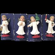 Wee Mid-century German Christmas Angels