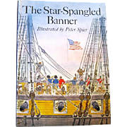 """1973 First Edition of """"The Star Spangled Banner"""", Peter Spier, HC"""