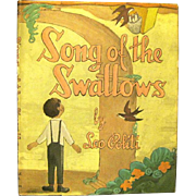 Song of the Swallows, by Leo Politi, Children's Book, 1949