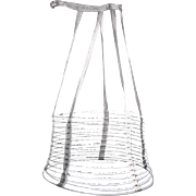 Authentic Victorian Cage Crinoline, for Hoop Skirt