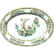 "Syracuse China 14"" Oval Platter ""Indian Tree"" Pattern"