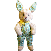 Cuddly Vintage Plush Easter Bunny