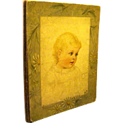 "Large Children's Book from the Victorian Era, ""Sunshine for Little Children"", Few Maude Humphrey Illus."