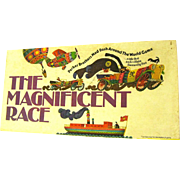 "1975 Parker Bros. Complete Board Game, ""The Magnificent Race"" with that Arch Villain Dastardly Dan"