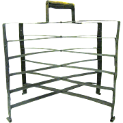 Turn of the Century Folding Metal Pie Cooling Rack with Five Tiers
