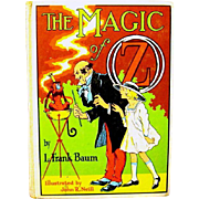 "L. Frank Baum Children's Book, ""The Magic of OZ"", 1965 Edition"