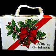 Unused 1940's Vintage Christmas Candy Box