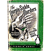 The Purple sickle Murders, Freeman Wills Crofts First Edition Penguin Books, 1943