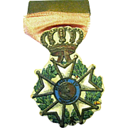 Victorian Dresden Ornament, French Legion of Honor