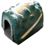 "WWII Papier Mache Lionel Toy Train Tunnel, Half Straight, ""O"" Gauge"