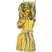 American Made Edwardian Paper Christmas Ornament