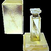 Nettie Rosenstein ODALISQUE Empty Perfume bottle, Original Box, 1946