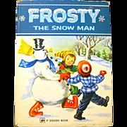 """""""Frosty the Snowman"""" Big Golden Book, 1979"""