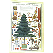 """""""Christmas Tree for the Dolls"""", 1911 Ladies' Home Journal"""