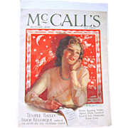 December 1929 McCall's Magazine Christmas Issue, Cover Only, Neysa McMein