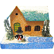 Vintage Japanese Village Putz House for Christmas Tree Scene