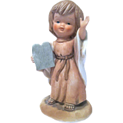ENESCO 1980 Bisque Figurine by Lucas, Little Friends of the Bible, MOSES