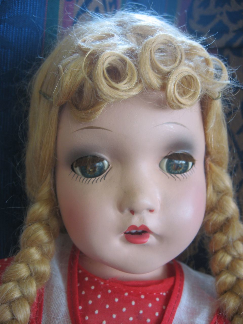 horsman  bright star  1940 composition doll