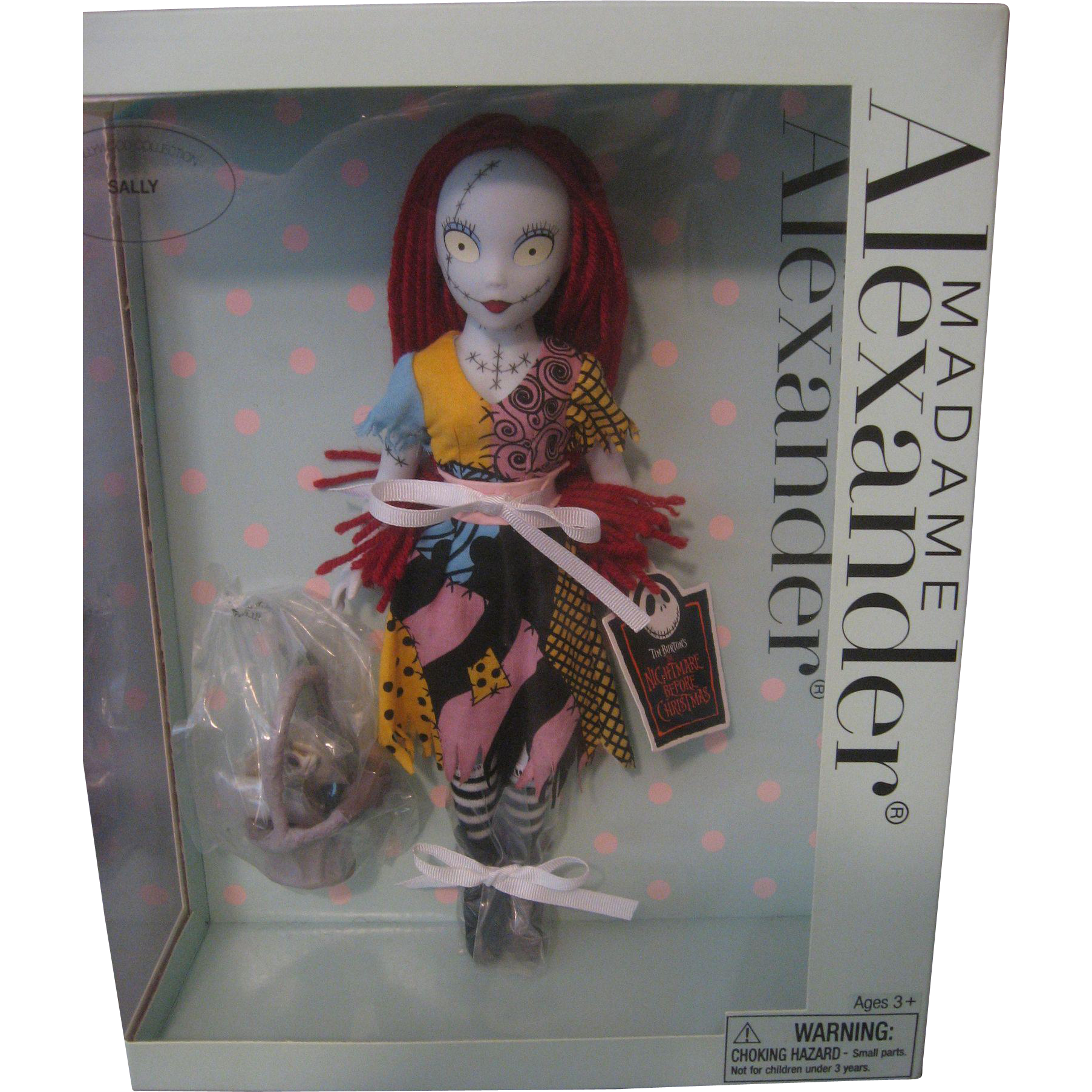 HARD TO FIND MADAME ALEXANDER DOLL *SALLY* FROM TIM BURTON\'S THE ...