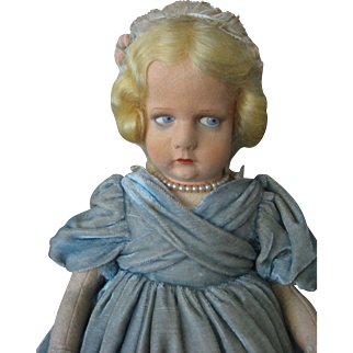 Lenci Series 300 Doll - RARE Outfit - 1929 Italy - Tagged - Amazing Condition -