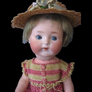 """Rare """"GOOGLY"""" #417 Heubach Koppelsdorf Doll - 12"""""""