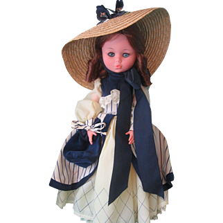 Zanini & Zambelli Fashion Doll - Made in Italy
