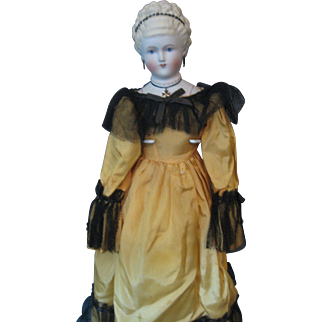 Emma Clear Doll- *Empress Augusta* - Humpty Dumpty Label On Body- Fashion Doll - Marked E Clear on Shoulderhead