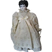 "Vintage Low Brow China Doll - Marked #3 - 16"" tall -"