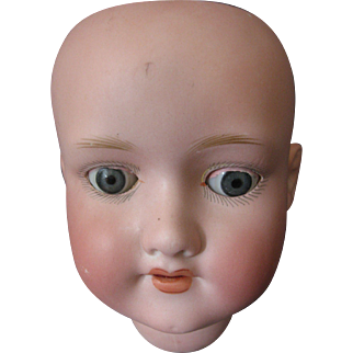AM 390 Armand Marseille Doll  Bisque - Head Only -