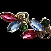 Vintage D&E, Juliana Navette and Scrollwork Earrings