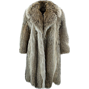 Pierre CARDIN Fur Coat - Large and Warm