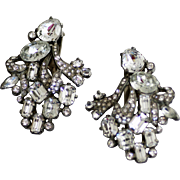 Eisenberg Original Sparkling Dress Clips - Mirror Beauties - Left and Right