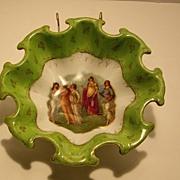 Austria Victoria Portrait Berry Bowl Numbered 115