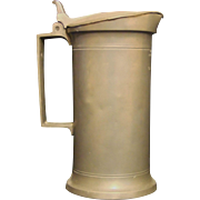 French Pewter Flagon