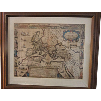 JOHN SPEED A NEW MAPPE OF THE ROMANE EMPIRE