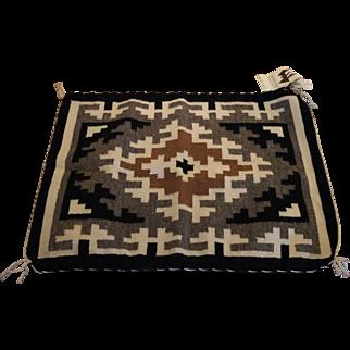 Two Grey Hills Navaho Blanket