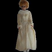 1969 Mattel Barbie Winter Wedding Dress