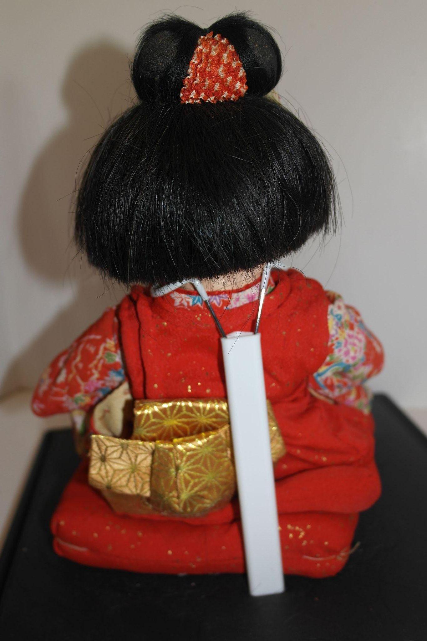 13 Quot Japanese Toddler Girl Doll With Extra Kimono From