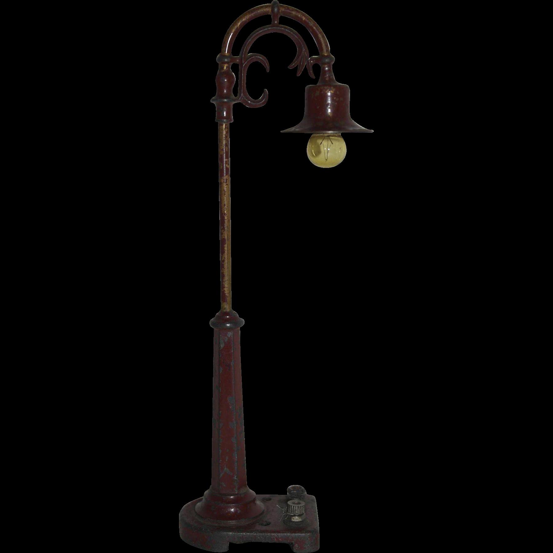 Vintage Lionel Lamp Post SOLD on Ruby Lane