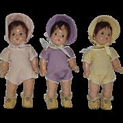 M.A. Wigged Dionne Quints - Yvonne, Annette, & Emilie